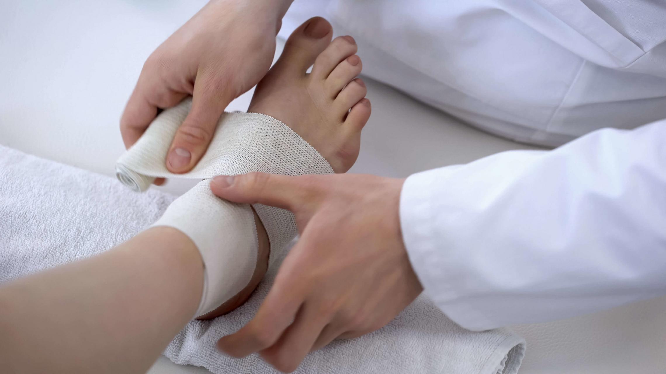 Bandage jambe ulcère veineux